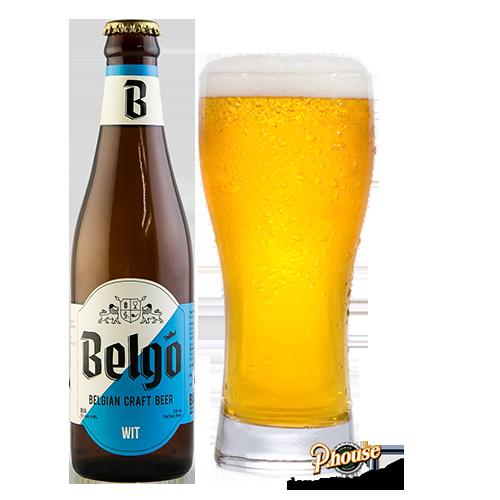 Bia Belgo Wit 4.8% – Chai 330ml – Bia Thủ Công TPHCM