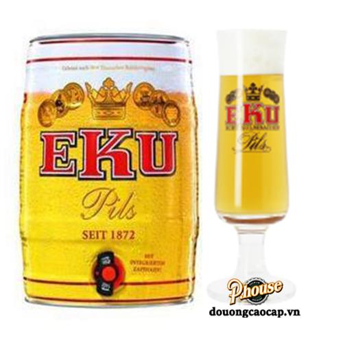 Bia Eku Pils 5% – Bom 5l – Bia Đức Nhập Khẩu TPHCM