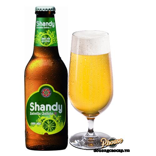 Bia Shandy Estrella Galicia 0.9% – Chai 250ml – Bia Tây Ban Nha Nhập Khẩu TPHCM