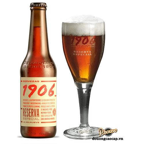 Bia 1906 Reserva Especial 6.5% – Chai 330ml – Bia Tây Ban Nha TPHCM