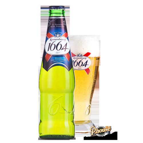 Bia Kronenbourg 1664 5.5% – Chai 250ml – Bia Pháp Nhập Khẩu TPHCM