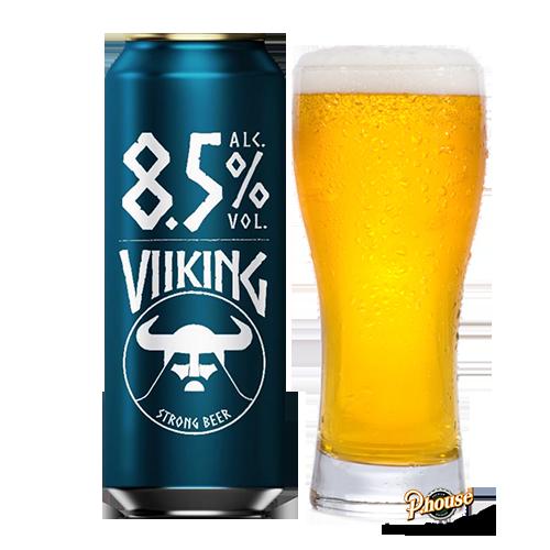 Bia Viiking Strong Lager 8.5% – Lon 500ml – Bia Đức Nhập Khẩu TPHCM