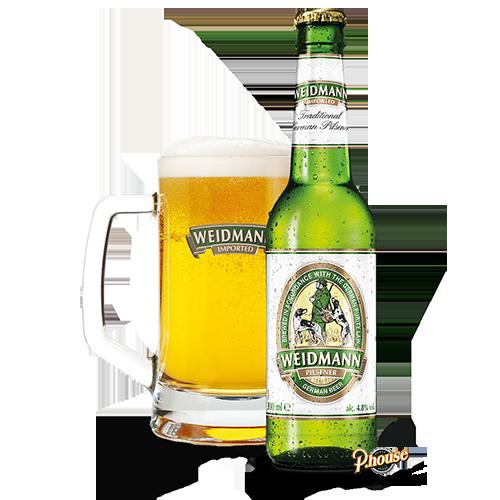 Bia Weidmann Pilsner 5% – Chai 330ml – Bia Hà Lan Nhập Khẩu TPHCM