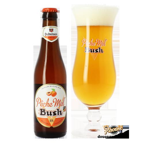 Bia Bush Peche Mel 8.5% – Chai 330ml – Bia Bỉ Nhập Khẩu TPHCM