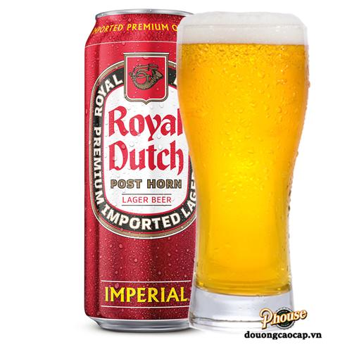 Bia Royal Dutch Imperial 5.1% – Lon 500ml – Bia Hà Lan Nhập Khẩu TPHCM