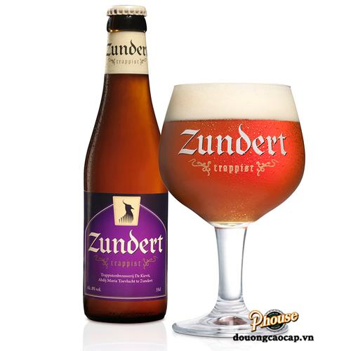 Bia Zundert Trappist 8% – Chai 330ml – Bia Hà Lan Nhập Khẩu TPHCM