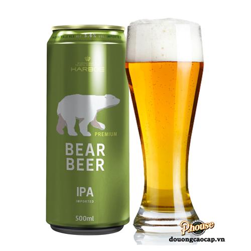 Bia Gấu Bear Beer IPA 5.6% – Lon 500ml – Bia Đức Nhập Khẩu TPHCM