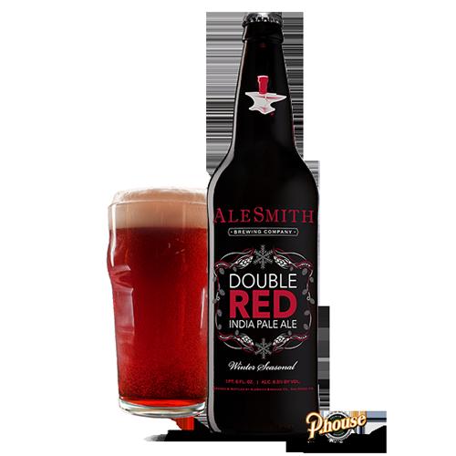 Bia Double Red India Pale Ale 8.5% – Chai 355ml – Bia Mỹ Nhập Khẩu TPHCM
