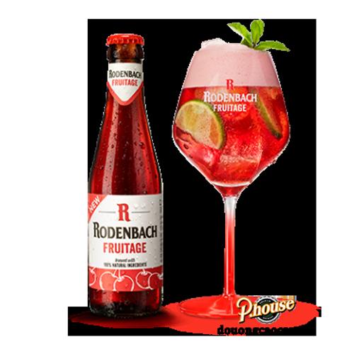 Bia Rodenbach Fruitage 4.2% – Chai 330ml – Bia Bỉ Nhập Khẩu TPHCM