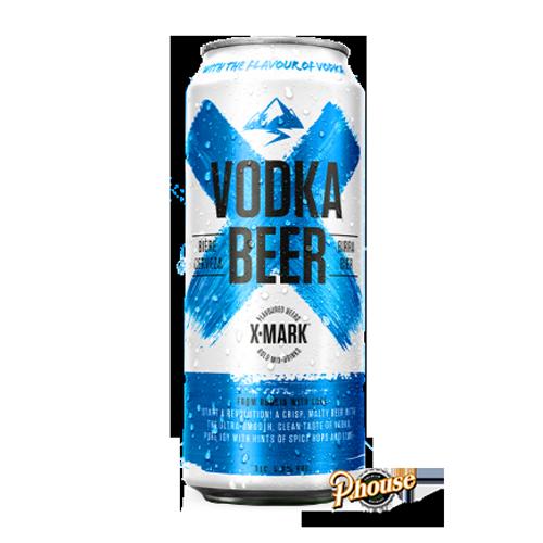 BIA X-Mark Vodka Beer 5.9% – Lon 500ml – Bia Pháp Nhập Khẩu TPHCM