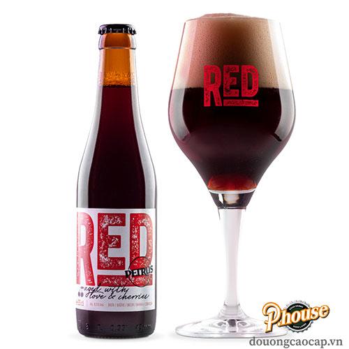 Bia Petrus Aged Red 8.5% – Chai 330ml – Bia Bỉ Nhập Khẩu TPHCM