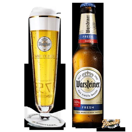 Bia Warsteiner Premium Fresh 0% – Chai 330ml – Bia Đức Nhập Khẩu TPHCM