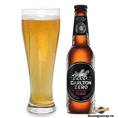 Bia Carlton Zero 0% Không Cồn – Chai 330ml – Bia Úc Nhập Khẩu TPHCM
