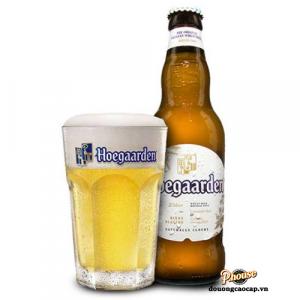 Bia Hoegaarden 4,9% - Chai 330ml - Bia Bỉ Nhập Khẩu TPHCM