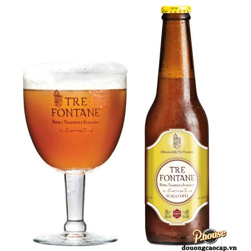 Bia Tre Fontane Scala Coeli 6,7% – Chai 330ml – Bia Ý Nhập Khẩu TPHCM