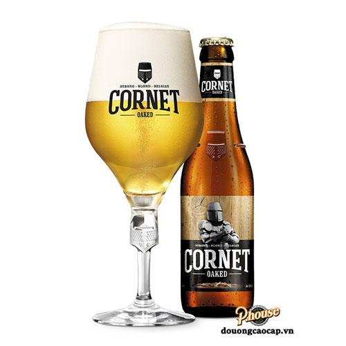 Bia Cornet Oaked 8.5% – Chai 330ml – Bia Bỉ Nhập Khẩu TPHCM