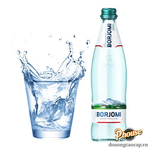 Nước Khoáng Borjomi – Chai 500ml – Nước Khoáng Georgia Nhập Khẩu TPHCM