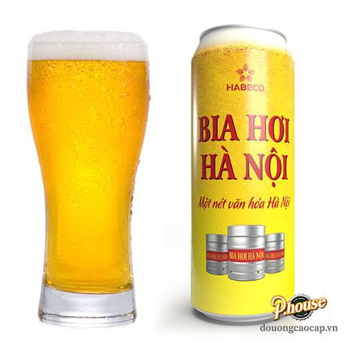 Bia Hơi Hà Nội 4.1% – Lon 500ml – Đại Lý Bia TPHCM