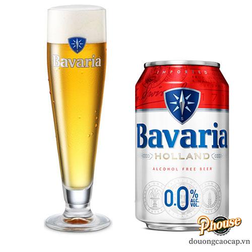 Bia Bavaria Không Cồn 0% – Lon 330ml – Bia Hà Lan Nhập Khẩu TPHCM