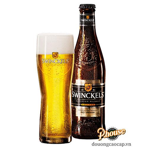 Bia Swinckels 5.3% – Chai 330ml – Bia Hà Lan Nhập Khẩu TPHCM